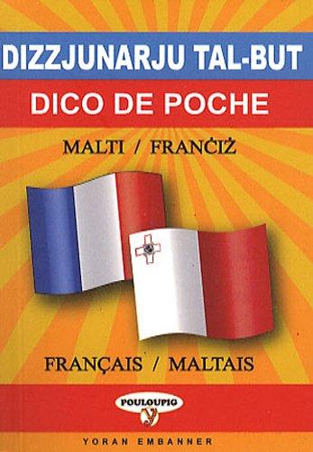 Dico de poche maltais-français et français-maltais par Joseph Cutayar