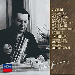 Vivaldi:Violin Concertos [Import allemand]