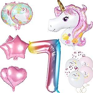 Decoración de Cumpleaños, Decoracion Unicornio,