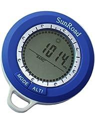 Anself Sunroad SR108N 8 in 1 Mini LCD Hintergrundbeleuchtung Digital Höhenmesser Steigleistung Barometer Thermometer Kompass
