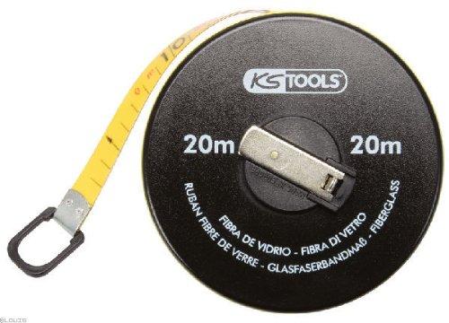 KS Tools 300.0042 Kapselbandmaß mit Kunststoffband, 30m (30 Maßband M)