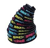 Cinelli–Sistema antivibración Logo Barra de terciopelo cinta–amarillo/rojo/azul