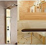 Zxy Home Bad ZXY edelstahl dusche wc dusche wc dusche wc dusche bad heiß mobile bad baden,goldene