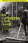 Les campagnes à livre ouvert par Barthélemy