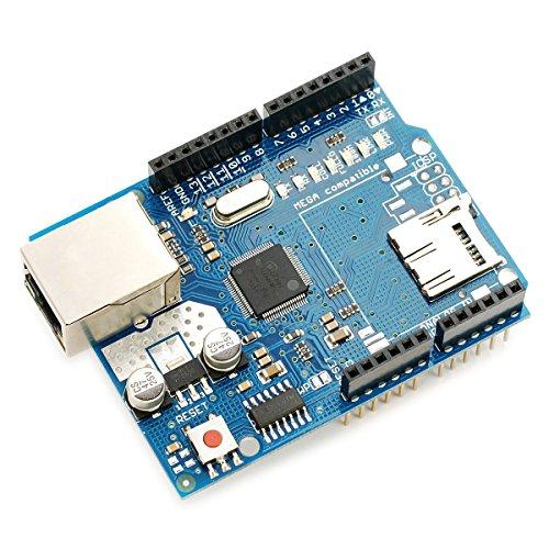 Daorier Ethernet W5100Shield network expansion slot micro SD per Arduino UNO Mega