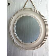 Espejos decorativos vintage for Espejos decorativos plateados