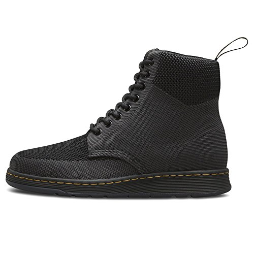 Dr.Martens Womens Rigal Knit Textile Boots Black Anthracite
