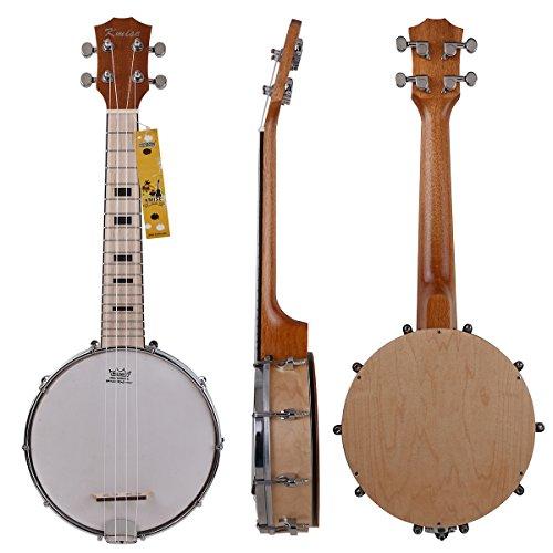 kmise-banjo-lele-ukulele-de-4-cuerdas-ukelele-uke-concierto-de-23-pulgadas-maple-wood