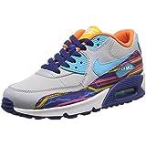 Nike Air Max 90 Prem Mesh (GS) Zapatillas de running, Niños