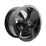 PrimeMatik - Extractor de Aire de Tubo de 400 mm para ventilación...