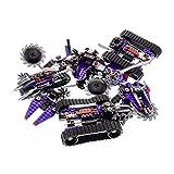 Bausteine gebraucht 1 x Lego System Teile Set für Modell Ninjago Neustart 70726 Destructoid Panzer 70722 OverBorg Attack Motorrad lila schwarz Incomplete unvollständig