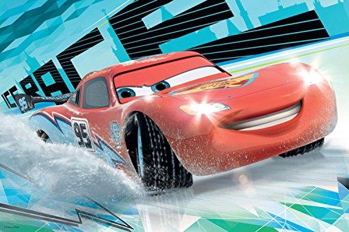 Image of Jumbo Disney Cars Puzzle and Colour (Medium)