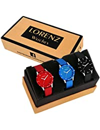 Lorenz Combo Of 3 Analog Watch For Women/Watch For Girls- AS-202426A