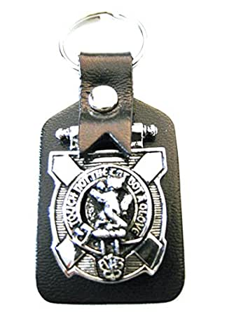 MacKintosh Scottish Clan Crest (Pewter) Key Fob, By Art Pewter