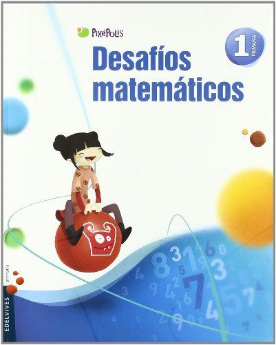 Matematicas 1º Primaria (Cuadricula) (Pixépolis) - 9788426379566