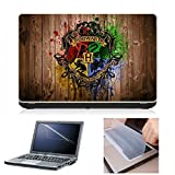Laptop Skin (Harry Potter Houses) + Scre...