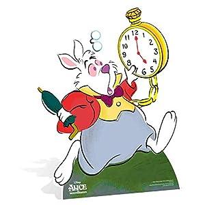 Star Cutouts SC857Pappausschnitt, klassisches Design: Weißer Hase aus Alice im Wunderland