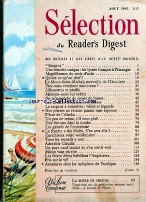 readers-digest-selection-du-01-08-1965-sergent-une-reussite-unique-les-lycees-francais-a-letranger-m