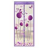 Loveble Magnetisches Fliegengitter Tür Moskitonetz Tür Verschlüsselung Soft Garn Vorhang