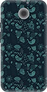 The Racoon Lean printed designer hard back mobile phone case cover for Moto X 2nd Gen. (crazy mead)