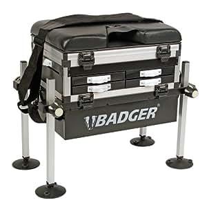 Badger Panier-siège de pêche 5 tiroirs