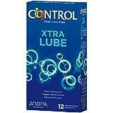 Control Extra Lube Preservativos - 12 Unidades