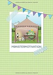 Monstermotivation Schreibtagebuch: Notizbuch, 36 gestaltete Seiten, DIN A5: Welcome to your retreat – Ein Rückzugsort für dich und dein Monster