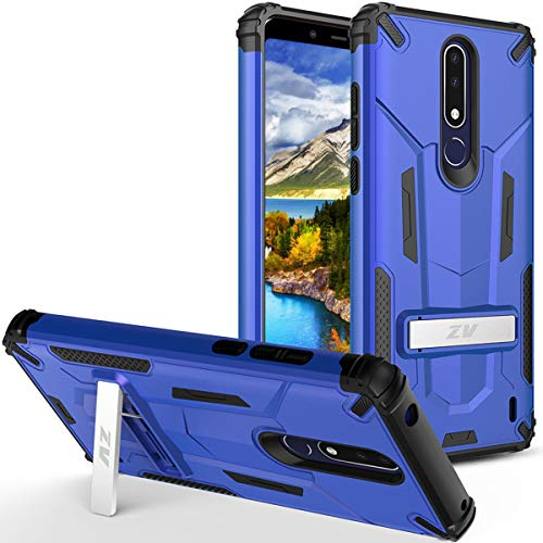 Phonelicious Nokia 3 1 Plus Case with Kickstand Heavy Duty Rugged Slim  Durable Hybrid Dual Layer Shockproof Phone Cover Compatible Cricket Nokia  3 1+