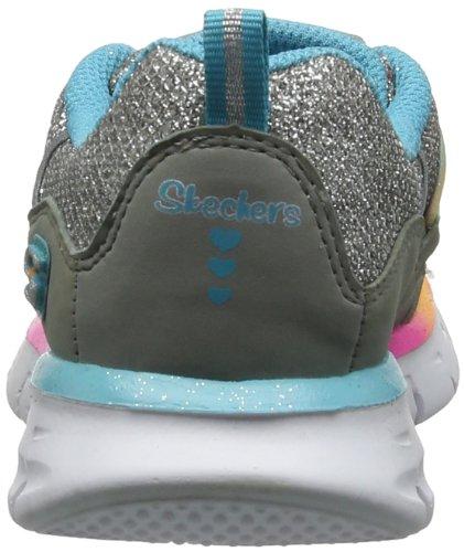 Skechers SynergyLoving Life, Sneaker bambine Grigio (Grau (GYMT))