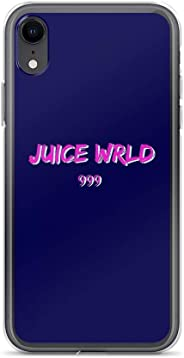Juice WRLD - 999 Text with Clear Design Transparent Plastic Back Case TPU Bumper Protective Case Cover for Samsung Galaxy A5
