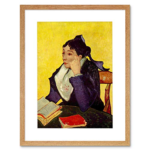 Painting Van Gogh Madame GINOUX Old Master Framed Picture Art Print F97X9688
