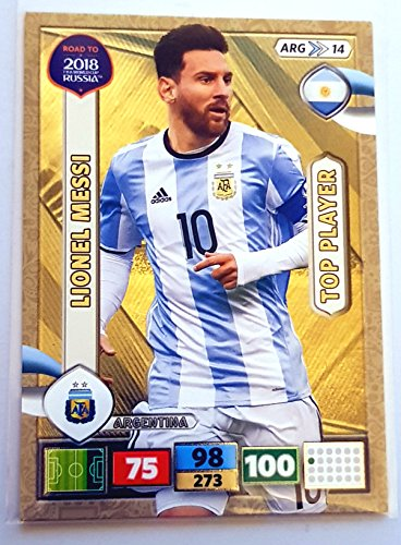 Road to 2018 FIFA World Cup Russland Adrenalyn XL - Lionel Messi Top Player Karte