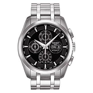 Tissot 0 – Reloj de automático para Hombre, con Correa de Acero Inoxidable, Color Negro