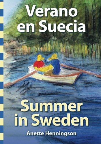 Portada del libro Verano en Suecia / Summer in Sweden