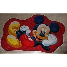 Alfombra granate Micky Mouse/alfombra/alfombra/zona de juegos alfombra/alfombra/Tapiz/modelo alfombra Disney Mickey Mouse/este maravilloso y alfombra con Mickey Mouse en tamaño 50 x 80 cm disponibles/esta alfombra más a los niños en colores modernos Nu, será ideal para en cualquier habitación infantil. Taaan dulce/fin está en la habitación infantil decomisadas, solo las pequeñas se mantiene estable en este su Diseño no pueden ver. Color Multicolor, da esta alfombra una armoniosa Note bordados enriqueció y cuenta con un moderno y de nuestra color. A la vez motivase a también con texto en alemán, para aprender y son tan divertido, que su hijo se su nos complacerá se mantiene estable no puede ver. Los modernos diseños que encajan ideal para la habitación infantil de hoy y impresiona gracias a su buena intensidad de color