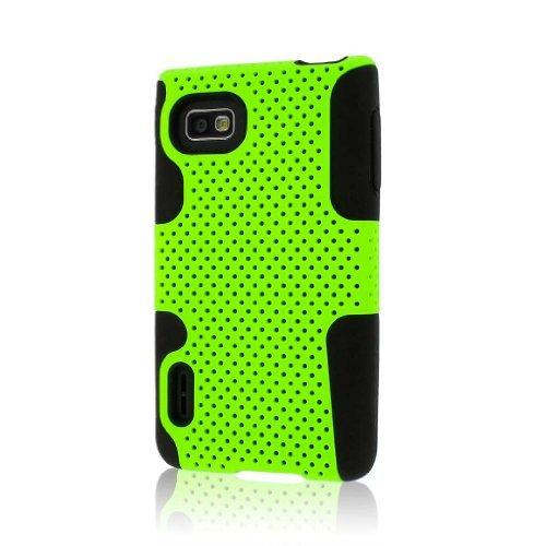F3 Fusion (Empire Mpero Fusion M Serie Schutzhülle für LG MS659 LS720 Optimus F3/Neon, grün)
