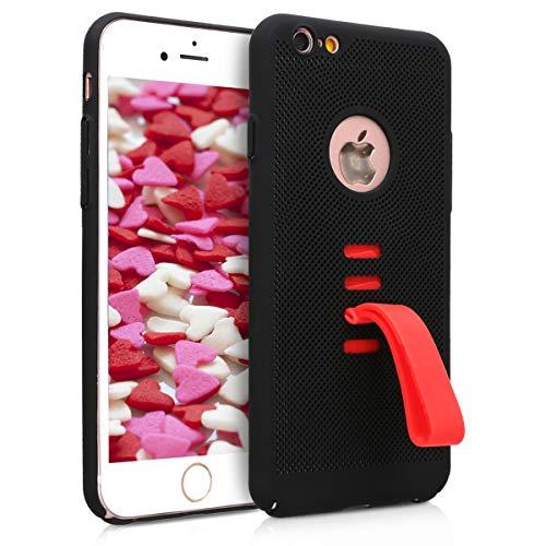 kwmobile Apple iPhone 6 / 6S Hülle - mit integriertem Fingerhalter - Handy Cover Case für Apple iPhone 6 / 6S