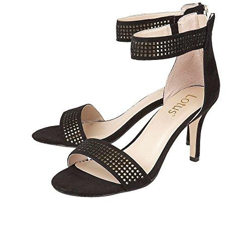 Lotus - Elmas, Strap alla caviglia Donna Black/Gold