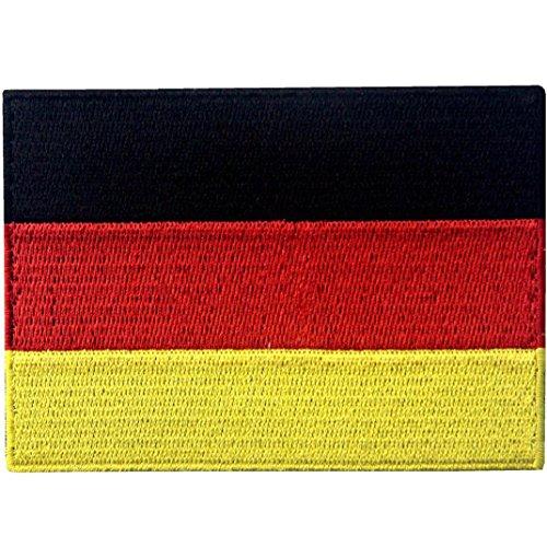 Bandera Alemania Alemán Emblema nacional Parche Bordado
