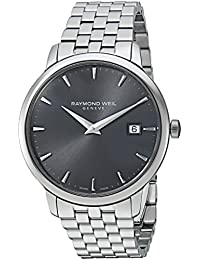 Raymond Weil 'Toccata' Swiss Automatic and Stainless Steel Casual Watch, Color:Silver-Toned (Model: 5488-ST-60001)