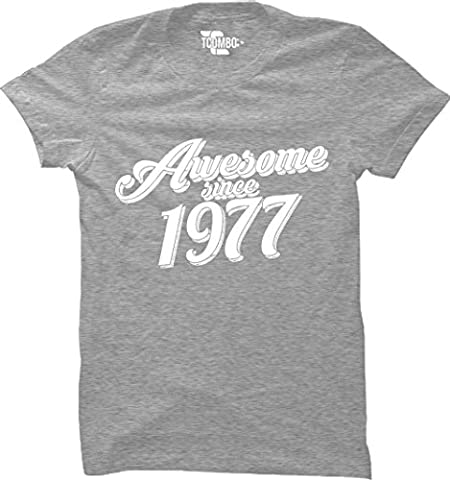 Grossbull Awesome Since 1976 - 40th Birthday Gift Anniversary WOMENS T-shirt X-Large