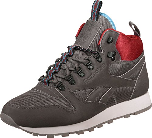Reebok CL Leather Mid MC chaussures Gris