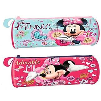 Portatodo Minnie Disney Adorable Me cilindrico surtido
