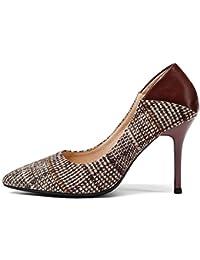 Amazon Para Mujer es Tacón Zapatos De Y Es RvWRwqrx8