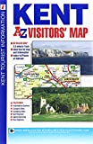 Kent Visitors Map (A-Z Road Map)