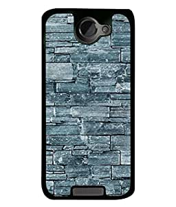 Digiarts Designer Back Case Cover for HTC One X, HTC One X+, HTC One X Plus, HTC One XT (Zig Zag Cirlce Rectangle Square)