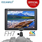 Feelworld FH7 7 Zoll Kamera Field DSLR Monitor Camera Full HD Focus Video Assist 1920x1200 IPS mit 4K HDMI Input Output Histogram