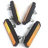 Contrast Lightweight Bike Pedal Reflectors (Pack of 4)