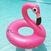 Beach Toy ® - Flotador para piscina en forma de FLAMENCO ROSA, Mega fun Party