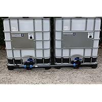Tankverbindung DN50 S60x6 nebeneinander - für 2 Tanks ( Tanks sind nicht im Angebot enthalten )